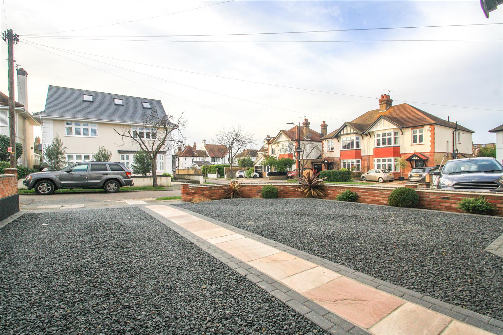 Driveway - street view